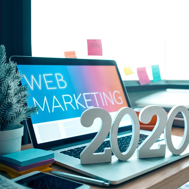 Image à la une -Les grandes tendances en marketing numérique pour 2020