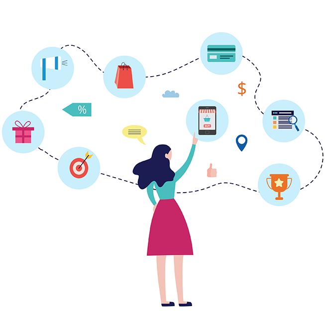 Image à la une -Le parcours d'achat en ligne : bien le comprendre pour bien vendre